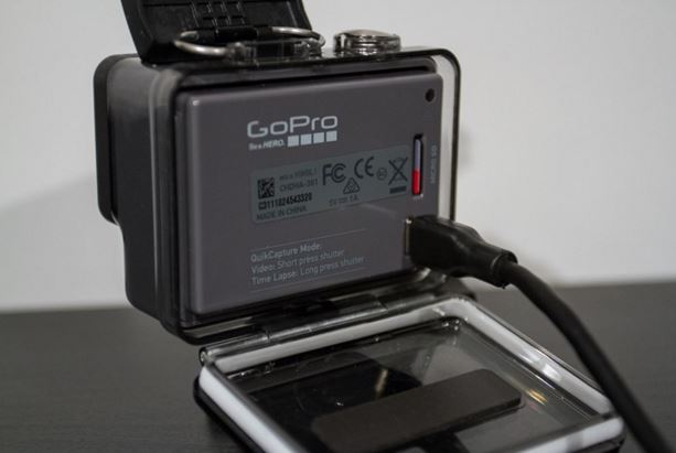 GoPro Hero- Back side
