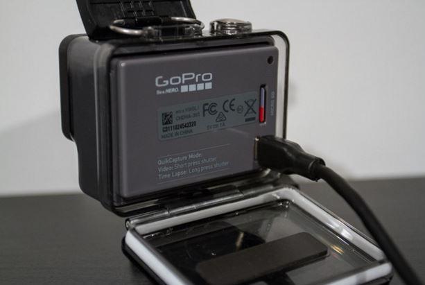 GoPro Hero- Back side