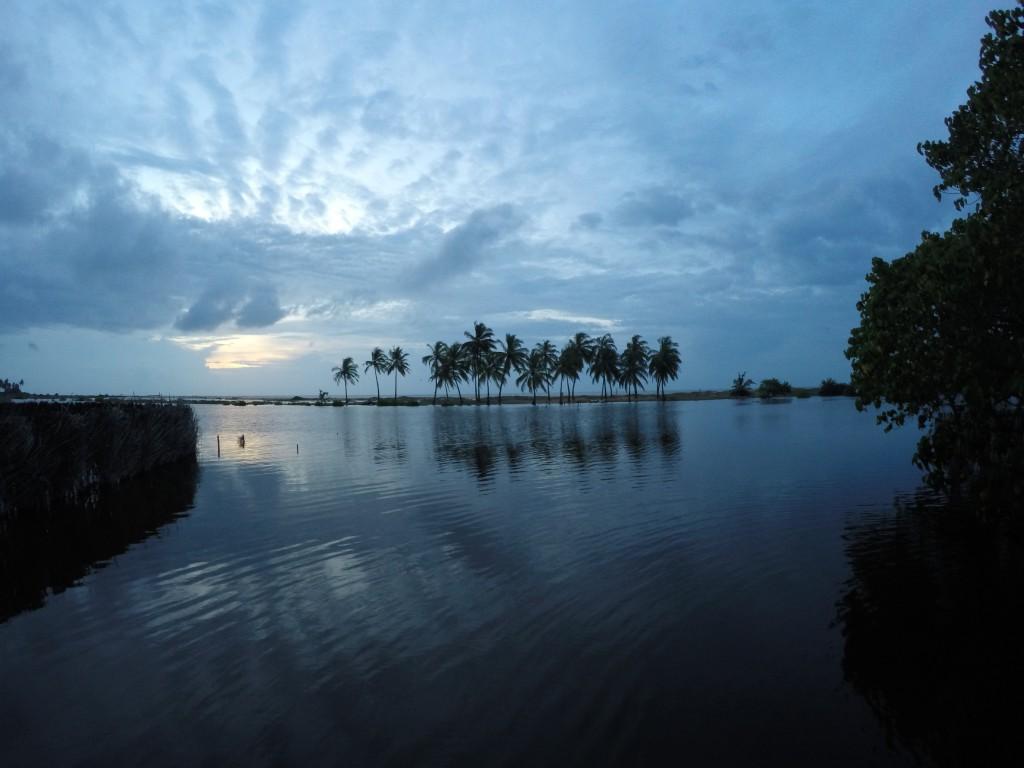Sunset in Srilanka