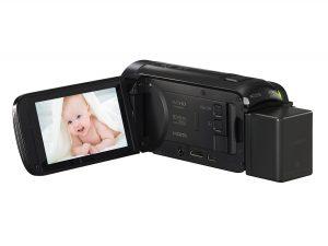 canon vixia hf r700 LCD