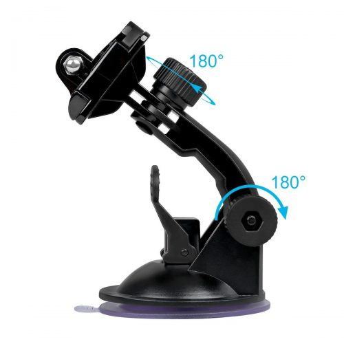 gopro dash cam suction mount