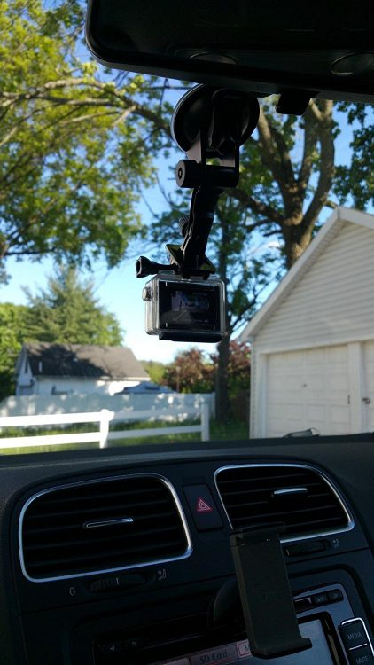how to use a gopro as a dash cam