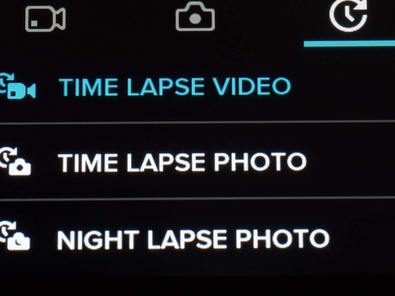 GoPro Hero5 Time Lapse settings