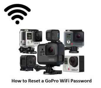 how to reset a gopro wifi password