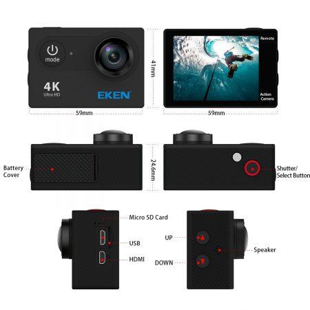 Eken H9 controls