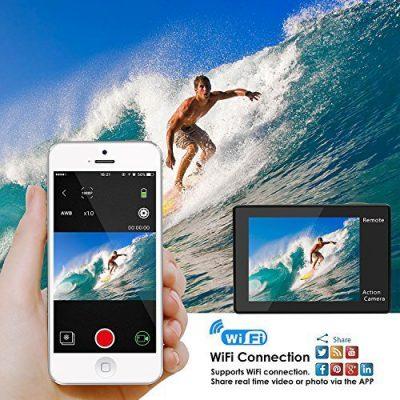 fitfort 4K action camera