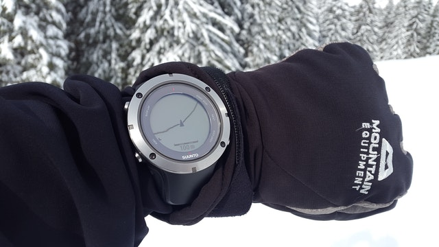 Suunto GPS hiking watch