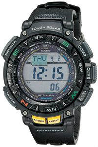Casio PAG240-1CR Pathfinder Review