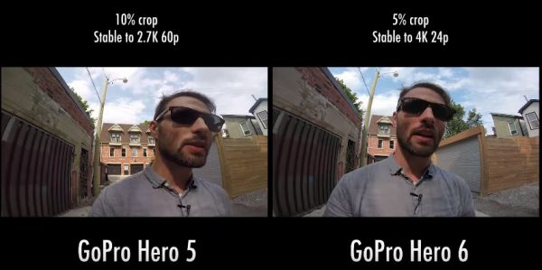 Hero6 vs hero 5 video comparison