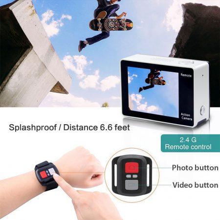 Eken H6S remote control