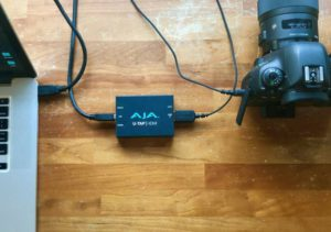 use DSLR with AJA capture device
