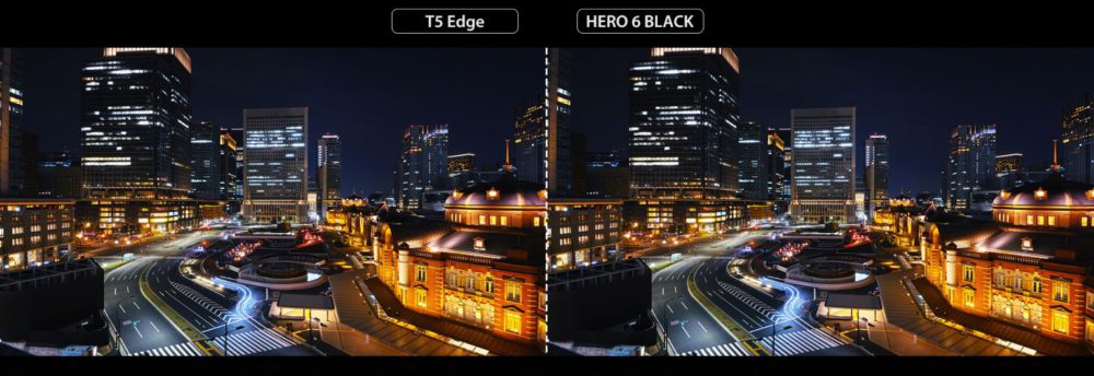 ThiEYE T5 Edge vs Hero6 black