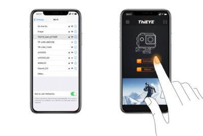 ThiEYE connect to app_2