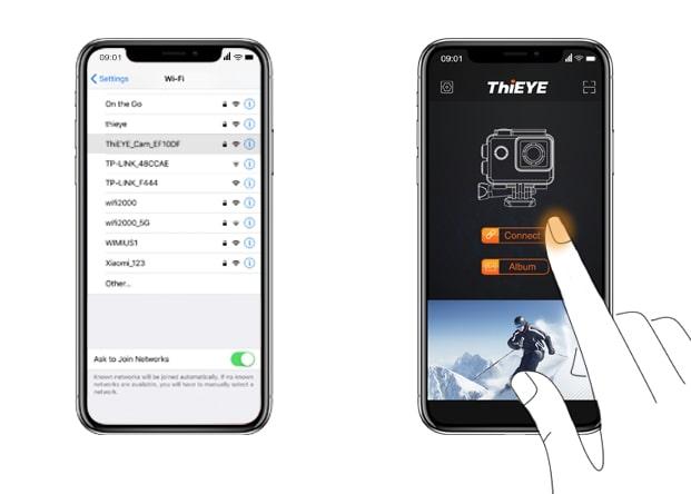 ThiEye Cam app