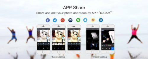 SJCAM SJ8 Pro App Share