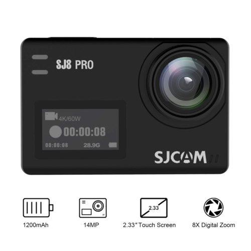SJCAM SJ8 Pro Front