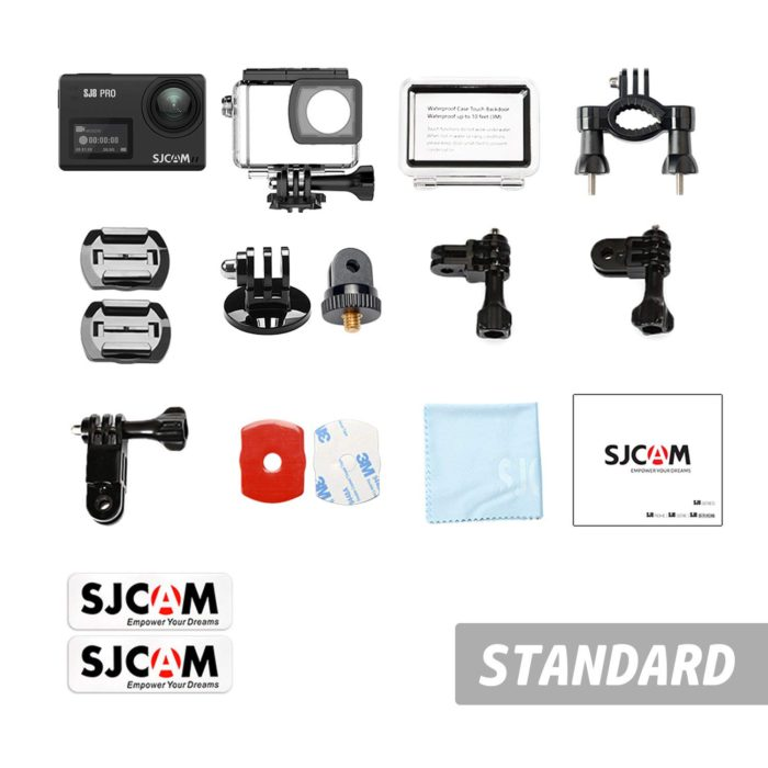SJCAM SJ8 Pro in the box