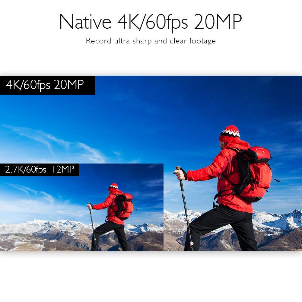 Akaso v50 elite native 4k