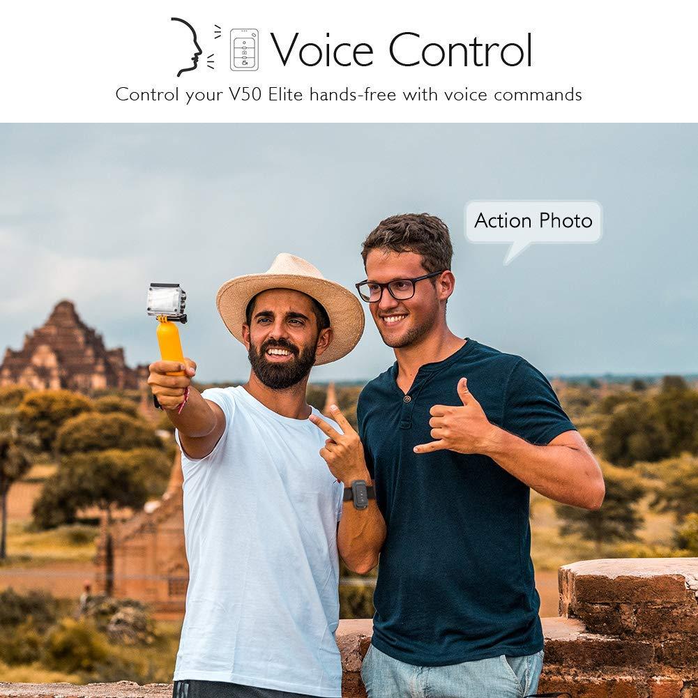Akaso v50 elite voice control