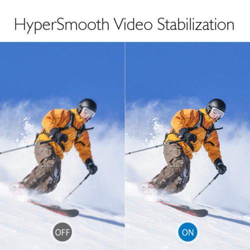 Akaso Brave 6 Image Stabilization