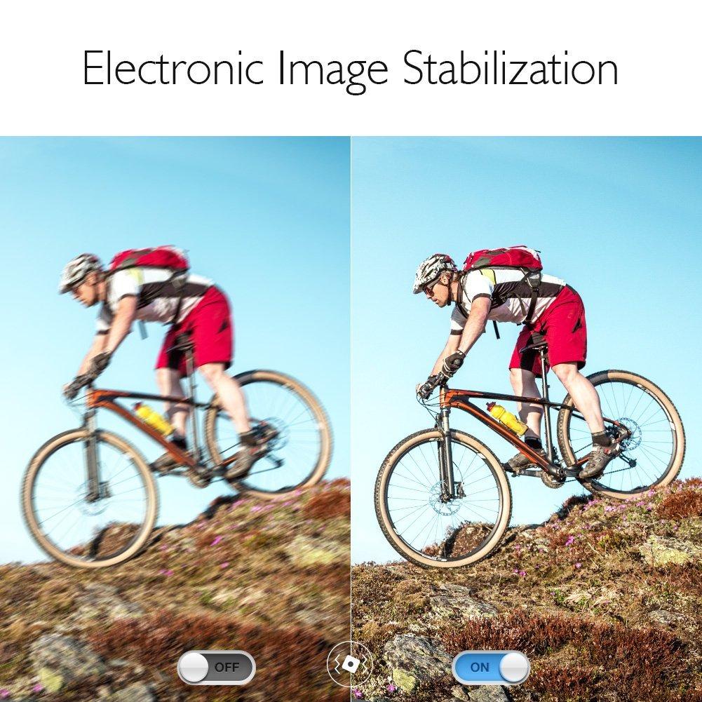 Akaso v50 Pro_electronic image stabilization