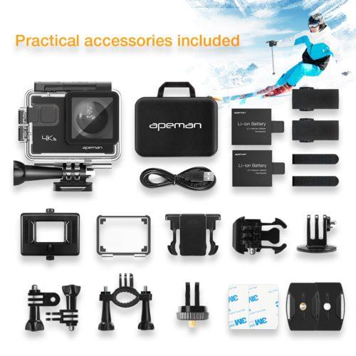 Apeman A80 accessories