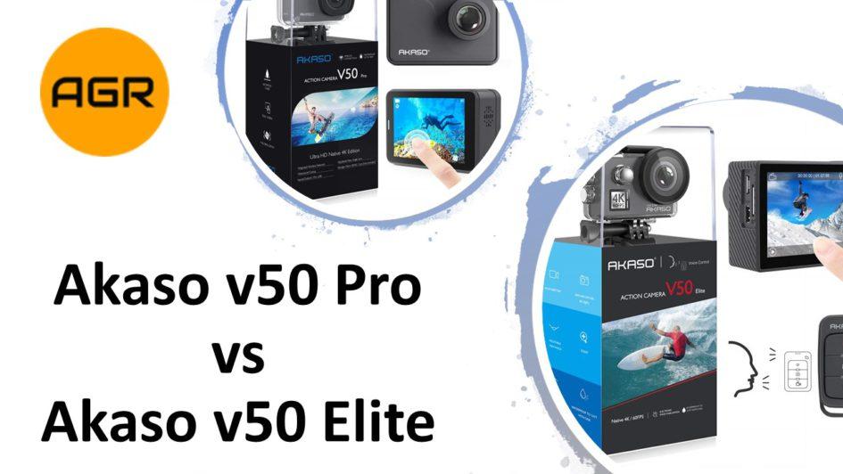 Akaso v50 Pro vs Elite