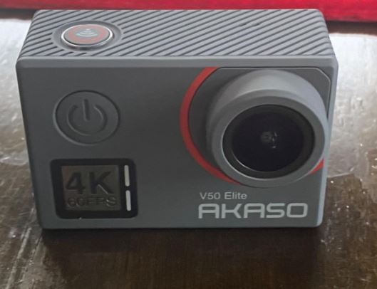 Akaso V50 Elite design front