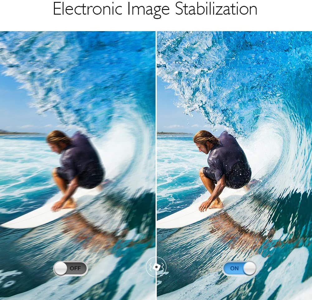 Akaso V50X Image Stabilization