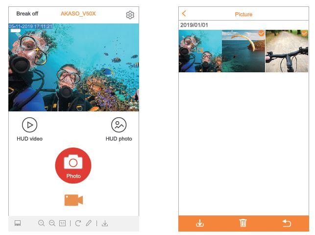 Akaso V50X app_2