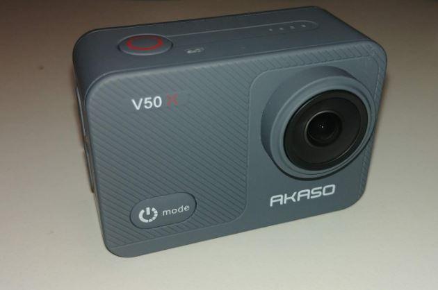 Akaso V50X design front