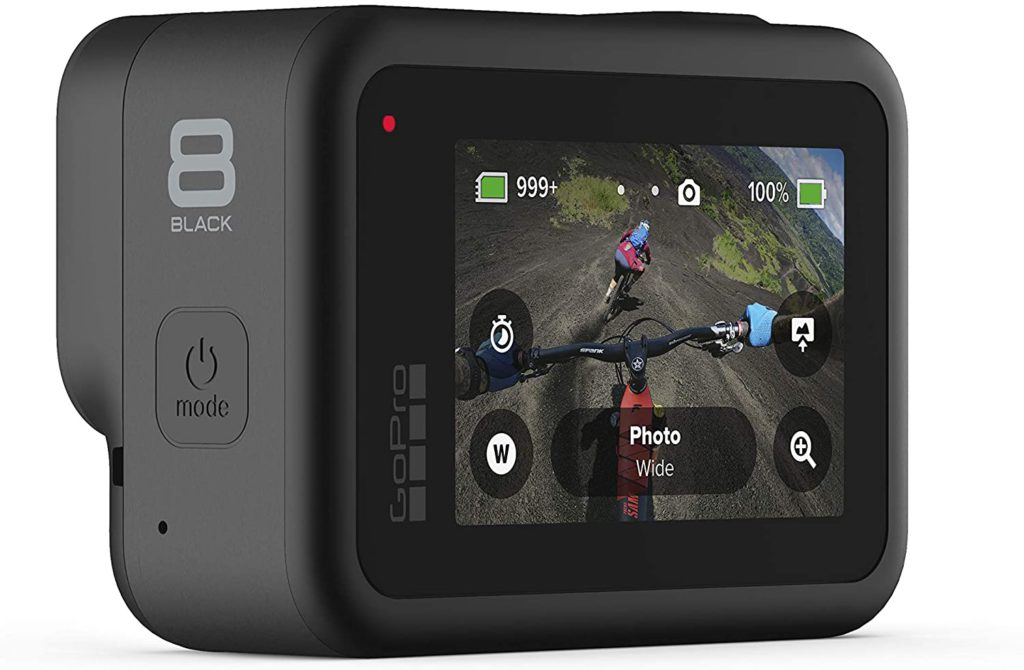 GoPro Hero 8 Black touchscreen