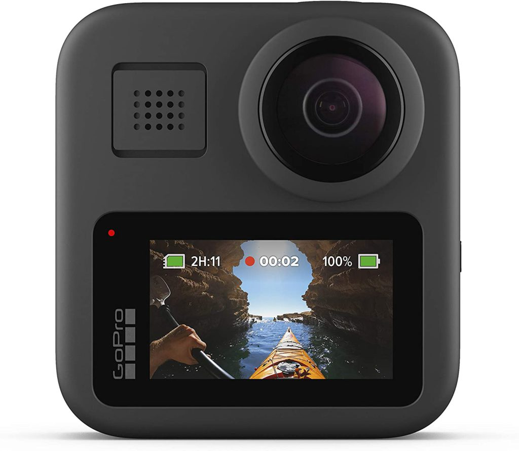 GoPro Max design back touchscreen