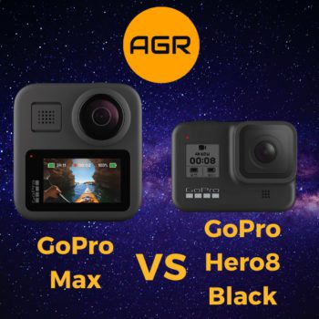 GoPro Max vs Hero8 Black Comparison
