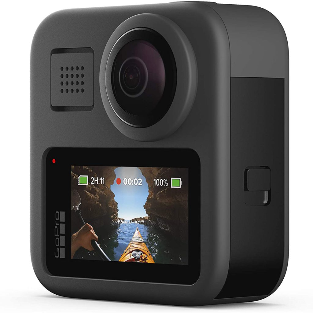 GoPro Max for Snowboarding and skiing