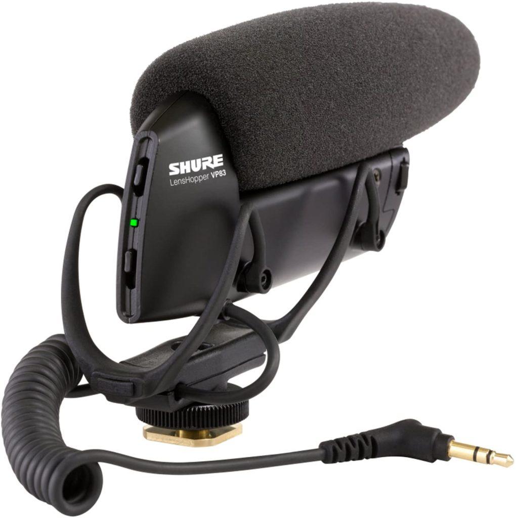 Shure VP83 mic for GoPro