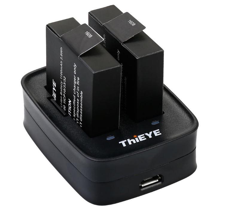 ThiEYE T5 Pro batteries