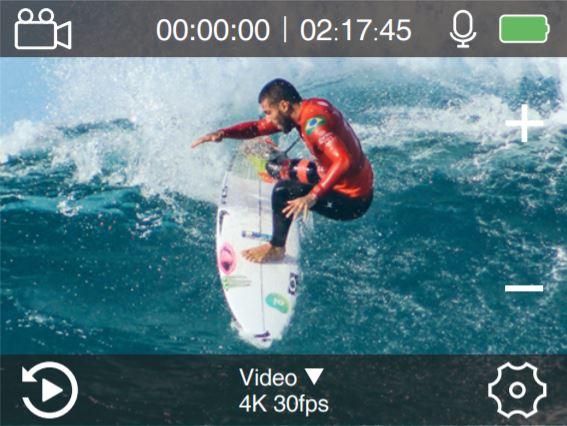 ThiEYE T5 Pro Video Mode