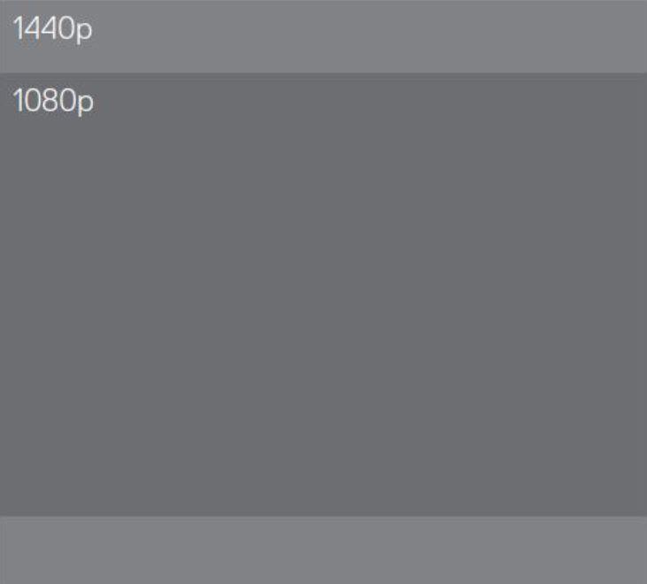 GoPro Hero 7 Silver 1440p vs 1080p