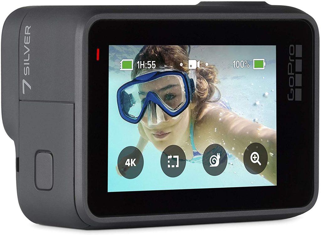 GoPro Hero 7 Silver design Back Touchscreen