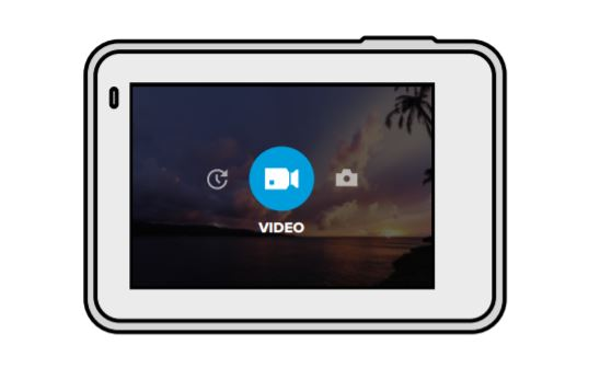 GoPro Hero 7 Silver modes