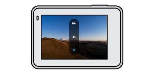 GoPro Hero7 White Photo Timer