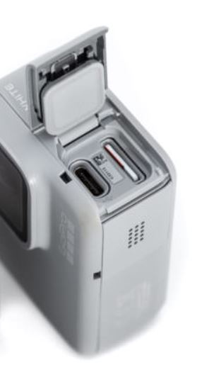 GoPro Hero7 White Ports and Sockets