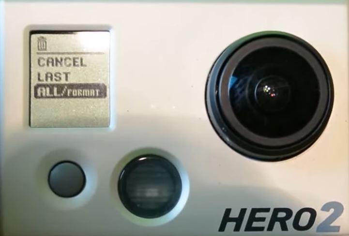 GoPro Hero 2 format sd card step 4