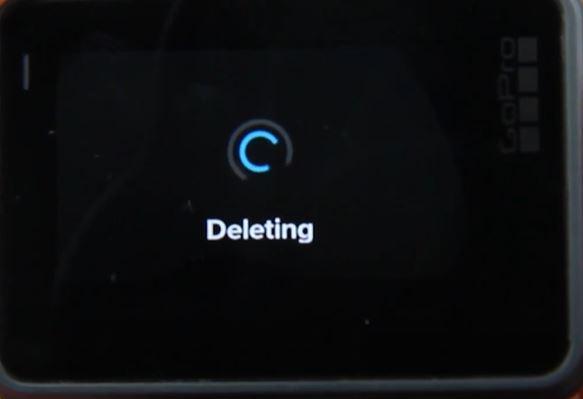 Format GoPro Hero5 Black SD card Step 4