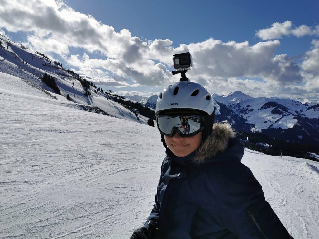 GoPro Voice Control for Skiing