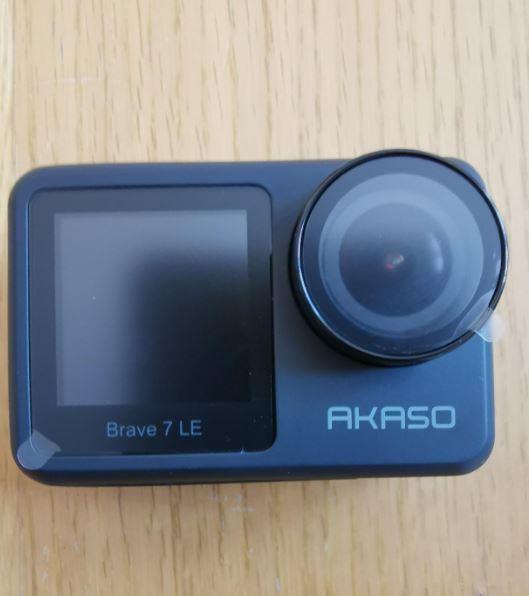 Akaso Brave 7 LE design front