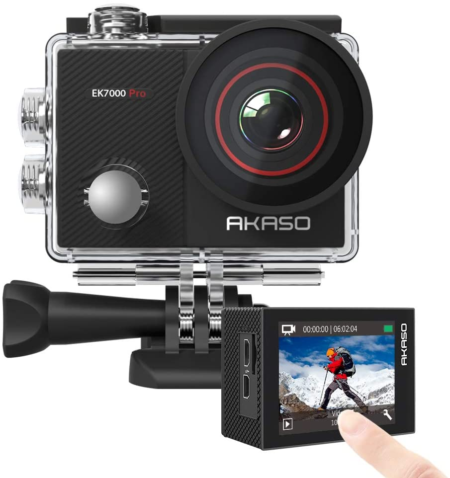 Akaso EK7000 Pro alternative to GoPro
