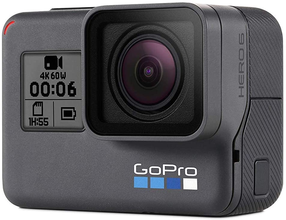 GoPro Hero6 Black comparison