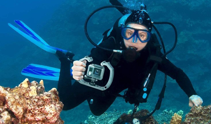 GoPro Rig for Underwater Scuba Diving